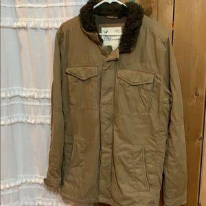 American Eagle L Tall Utility Jacket Coat